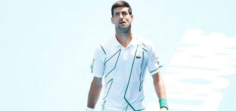 Djokovic aconselha jovens: «Não vejam os meus vídeos a partir raquetas!»