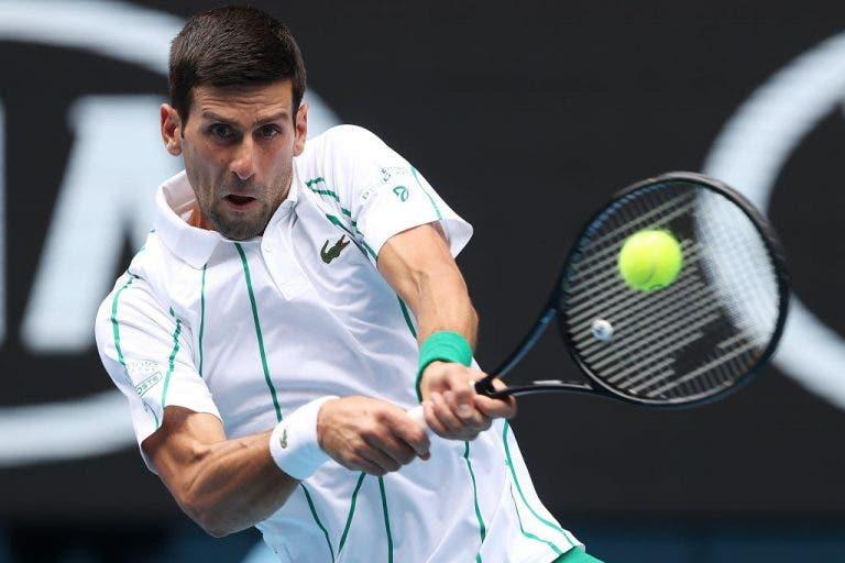 Djokovic: «Joguei extremamente bem. Estou satisfeito com o meu rendimento»