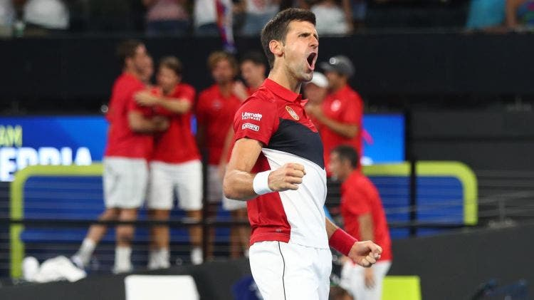 Djokovic: «Foi um dos encontros mais emocionantes que joguei nos últimos anos»