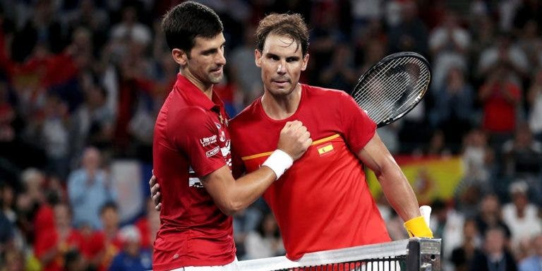Djokovic: «Ficámos surpreendidos por não ver o Nadal em court nos pares»