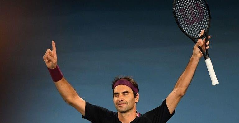 Ninguém jogou tantos quintos sets como Federer na história dos Grand Slams