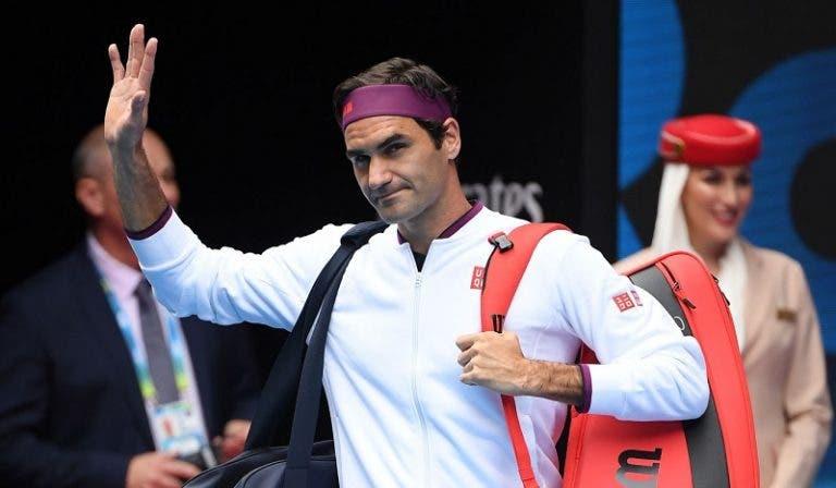 Federer: «Hoje joguei solto, sem grandes complicações, mas pode não ser assim na próxima ronda»