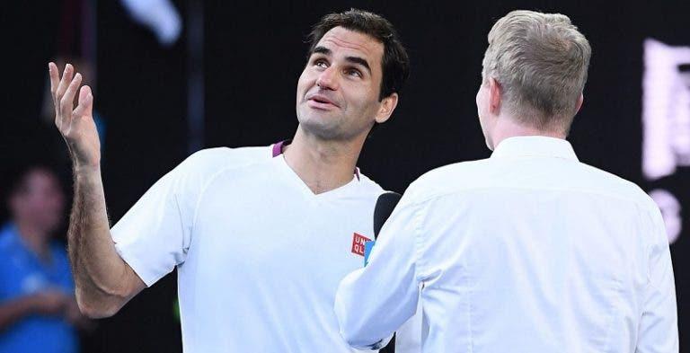 Federer: «Não merecia ganhar, mas aqui estou eu. Acredito em milagres»