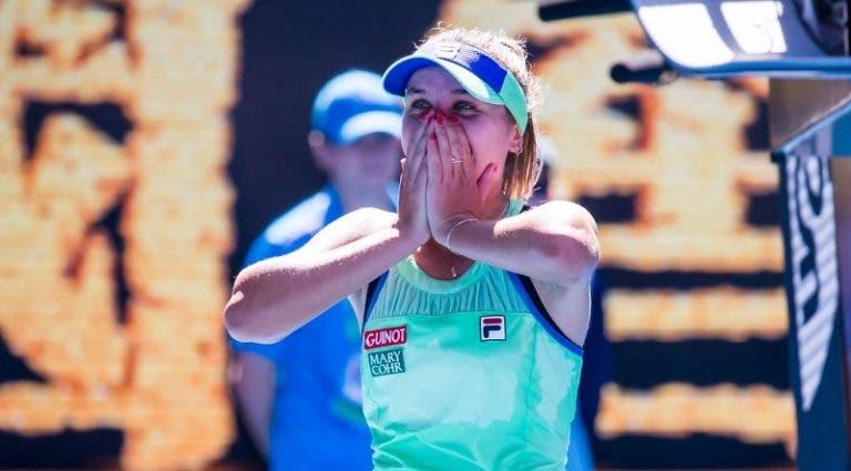 Sofia Kenin: «Não encontro o meu jogo nesta altura»