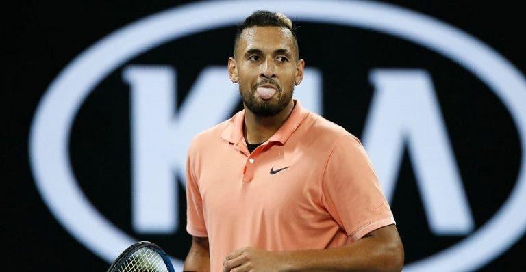 McEnroe: «Só há quatro tenistas mais talentosos do que Kyrgios»
