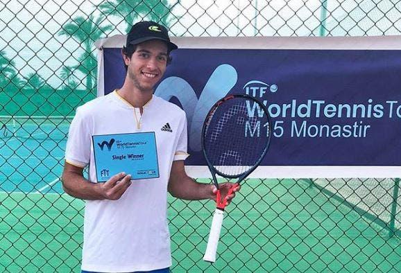 Nuno Borges «muito feliz» com título na Tunísia: «Gostaria de acabar o ano no top 300»
