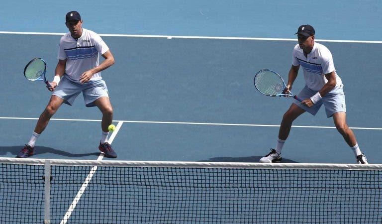 Irmãos Bryan despedem-se do Australian Open: «Tudo mudou desde a 1.ª vez que cá viemos»