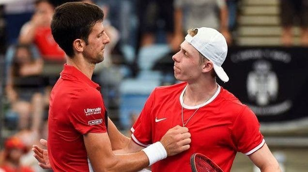 Djokovic após batalha com Shapovalov: «Dá-me pena, ele também merecia a vitória»