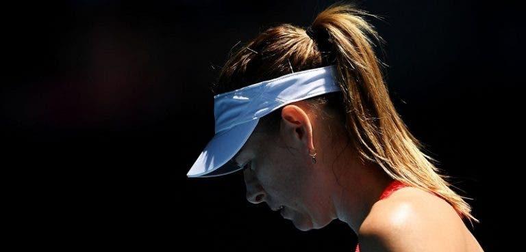 Sharapova eliminada na primeira ronda do Australian Open