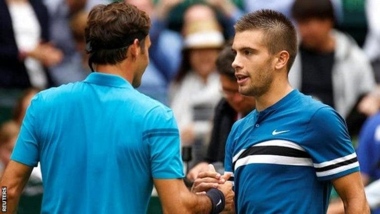 Coric: «Vencer Federer por duas vezes foi especial»