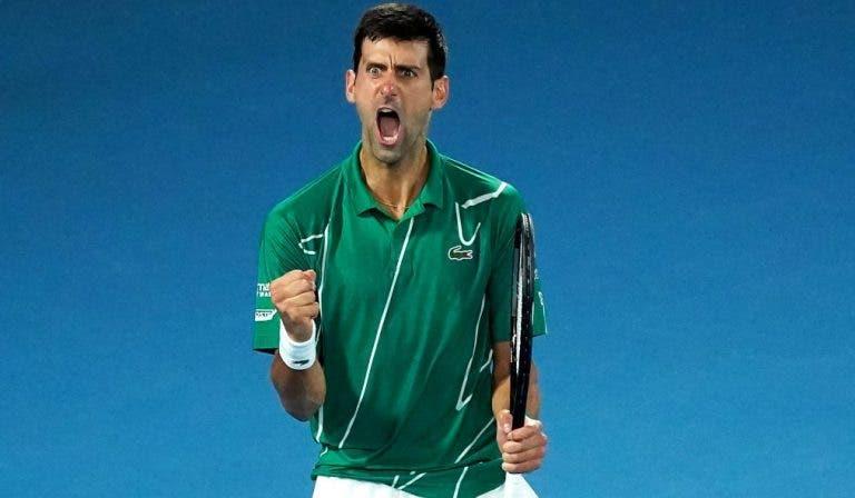 [VÍDEO] Djokovic faz 33 anos. Os 17 match points dos seus títulos de Grand Slam