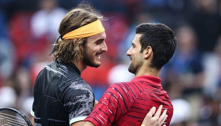 Djokovic desfaz-se em elogios para Tsitsipas mas garante: «Espero conquistar o título»