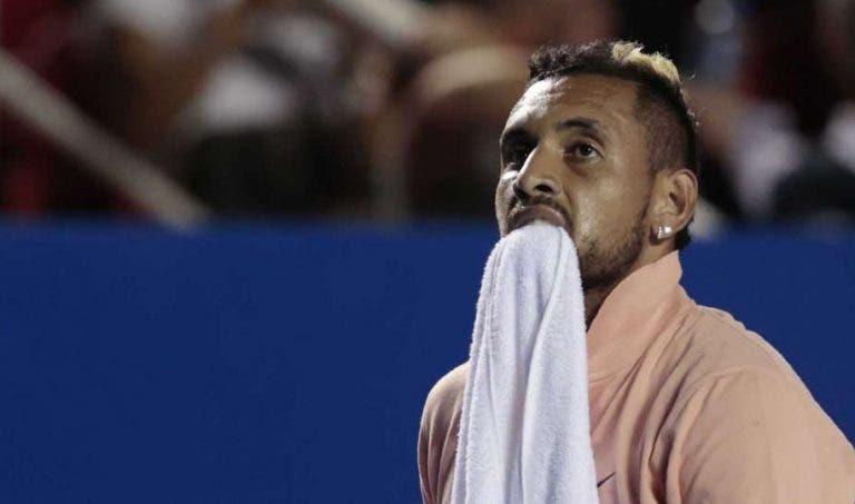 Kyrgios reage ao torneio de Mouratoglou: «O que é isto?»