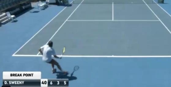 Jogador australiano perde encontro num Challenger… e atira a raqueta para as bancadas