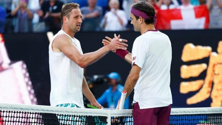 Sandgren: «Federer é o mais bonito de se ver, mas Djokovic é o melhor de todos os tempos»