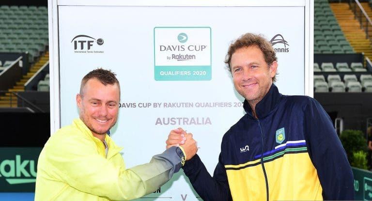 Wild e Monteiro vão a jogo no primeiro dia contra Austrália desfalcada
