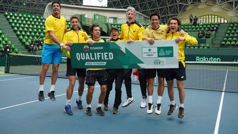 Equador (!), Cazaquistão e Itália garantem vaga nas Davis Cup Finals