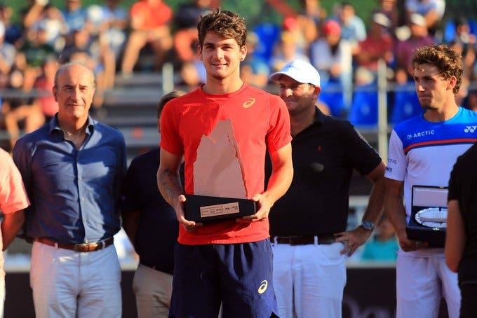 A reação de Thiago Wild ao histórico título ATP: «Que turbilhão de semana»