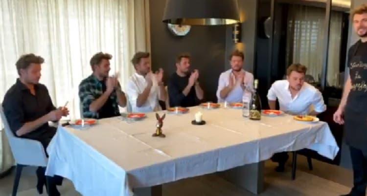 [VÍDEO] Wawrinka revela como foi o seu (animado) jantar de aniversário