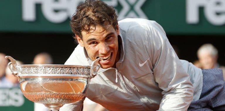 Nadal acha que o seu recorde de 12 Roland Garros será batido
