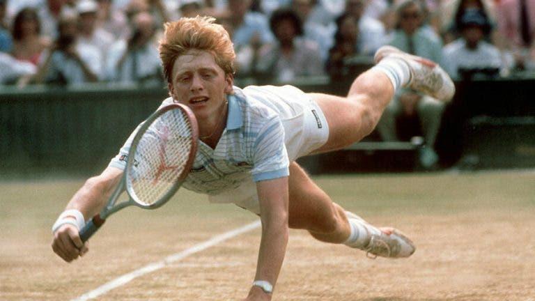 Boris Becker: o 'puto' maravilha que distribuía 'ases' à força de canhão