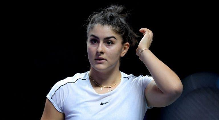 Campeã em título Andreescu DESISTE do US Open 2020
