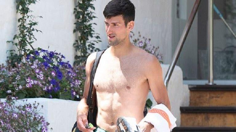 Novak Djokovic voltou aos treinos (com restrições) em Marbella