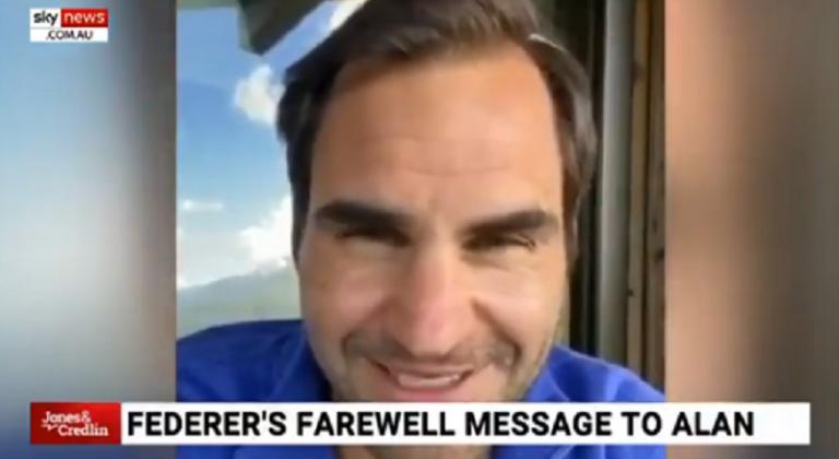 Federer debaixo de fogo após deixar mensagem a radialista famoso por opiniões racistas