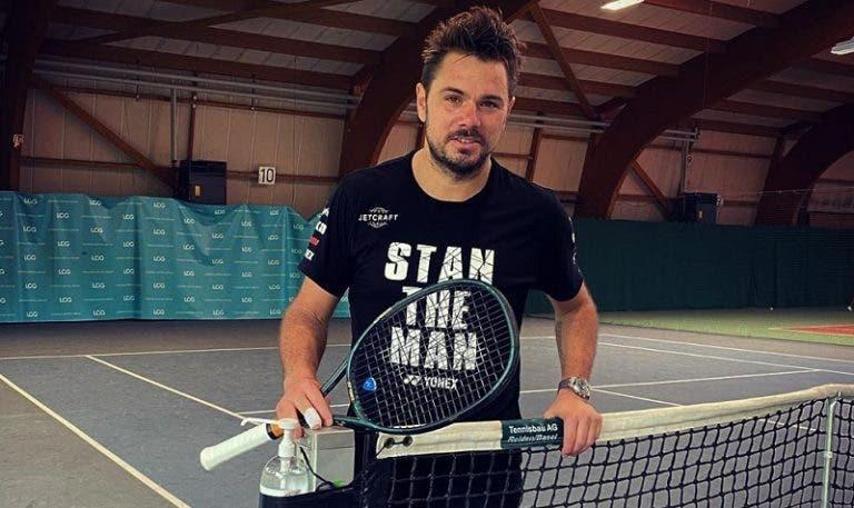 Stan Wawrinka: «Depois de tanto tempo, esqueci-me de como se joga ténis»