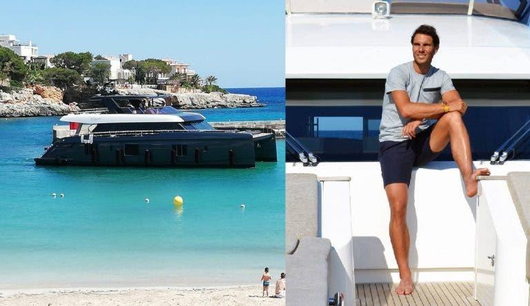 O novo barco milionário de Nadal já chegou a Maiorca