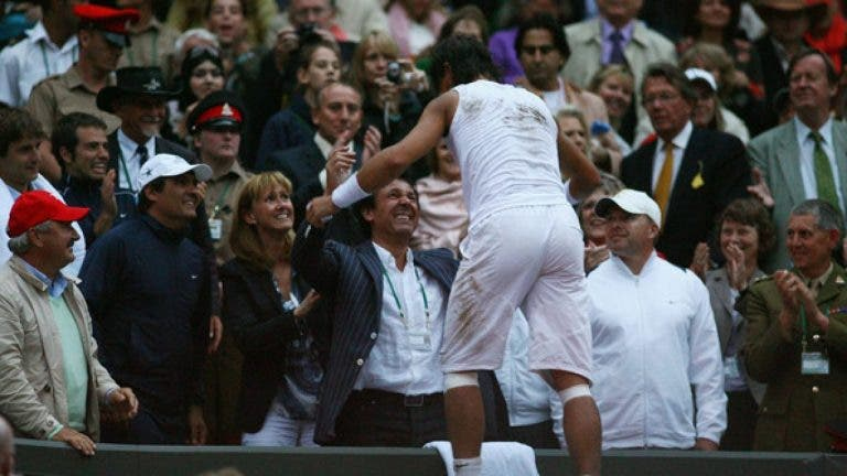 Toni Nadal: «Nunca mais me vou sentir como em Wimbledon 2008»