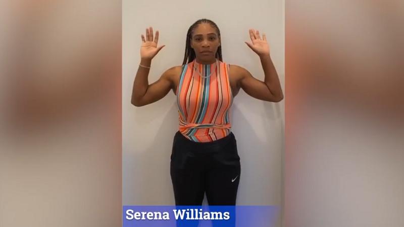 Tiafoe publica vídeo emocionante contra o racismo com Serena presente