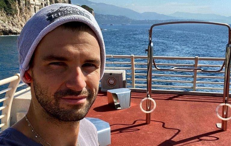 Dimitrov está livre do coronavírus e diz que quer jogar o US Open