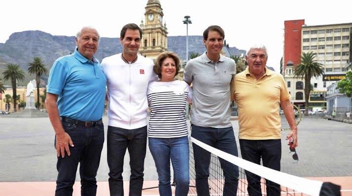 Rafa Nadal: «O pai de Roger Federer é fenomenal»