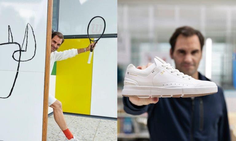 THE ROGER: Federer lança a sua linha de sapatos em dia especial