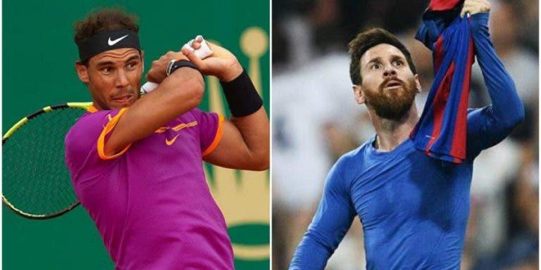 Nadal derrota Messi em votação para definir o herói das crianças espanholas