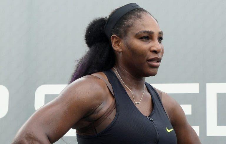Serena Williams: «Sem público jogo mais relaxada»