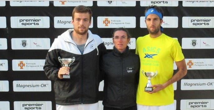 Leonardo Tavares e Romain Barbosa campeões de pares em Vale do Lobo