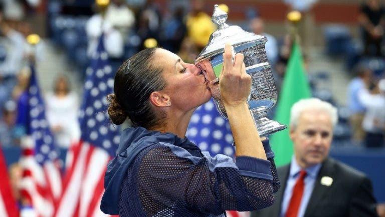 Brava, Flavia: as lágrimas, o título e o anúncio do adeus da nova campeã do US Open