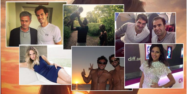 O Instagram, os jogadores e as fotos imperdíveis
