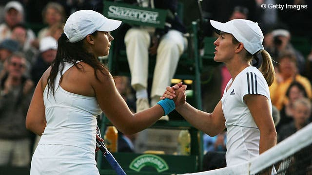 Henin falhou final de Wimbledon por ter medo de Venus
