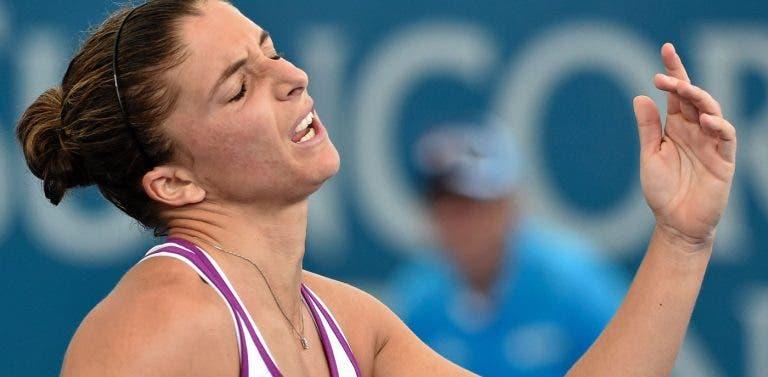 Sara Errani perde em Bogotá, fica fora do top 100 e vai ter de jogar o qualifying de Roland Garros