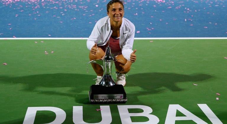 Brava, Sara! Aos 28, Errani vence o título mais importante da carreira no Dubai