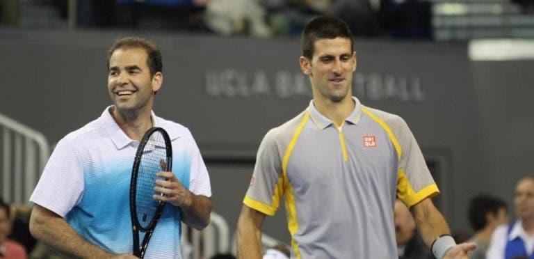 Pete Sampras: «Djokovic tem jogado o melhor ténis da história»