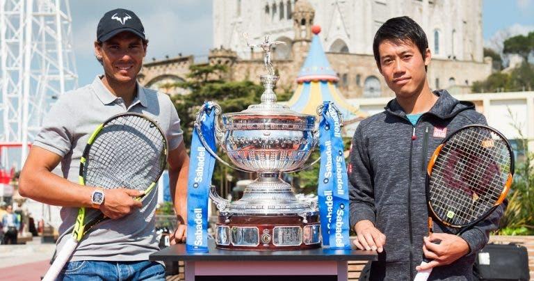 Quinta-feira louca em Barcelona: Nadal-Nishikori, Auger Aliassime-Shapovalov e muito mais