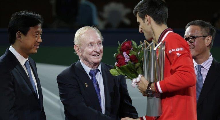 Laver diz o que Djokovic não deve fazer rumo ao Grand Slam de calendário