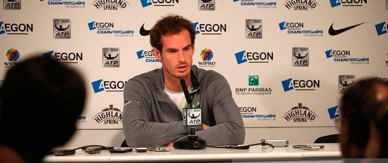 Murray sobre Lendl: «Mandou-me uma mensagem a dizer 'vamos a isso'»