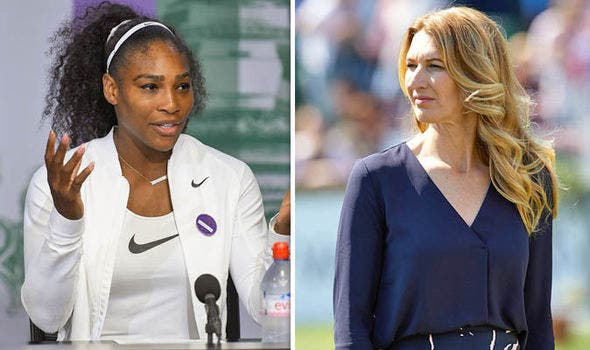Steffi Graf parabeniza Serena Williams por igualar o seu recorde