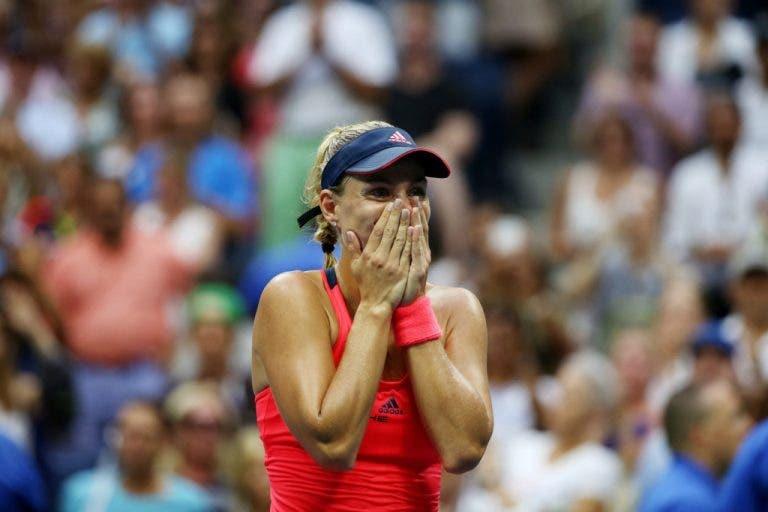 [VÍDEO]: o PONTO que sagrou Angelique Kerber CAMPEÃ do US Open