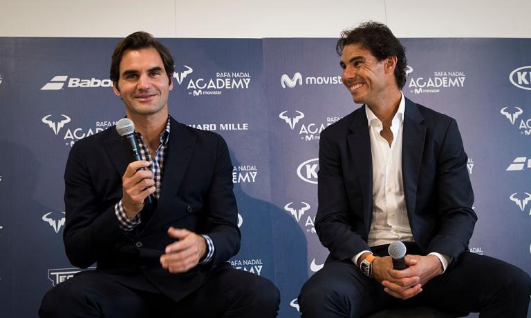 Federer promove a Academia de Nadal: «É alguém em quem confio»